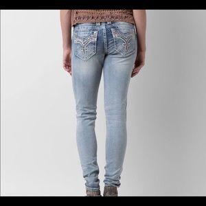 Rock revival Rona skinny jeans light wash